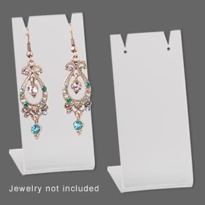 Earring Displays Acrylic Clear