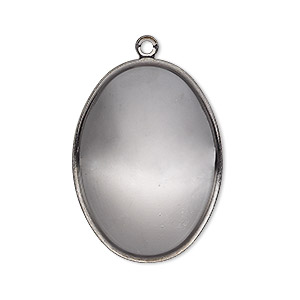 Pendant Settings Gunmetal Greys
