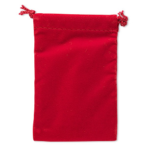 Pouches Velveteen Reds