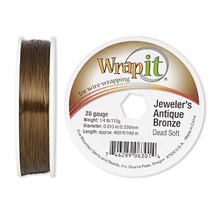 Wire-Wrapping Wire Bronze Browns / Tans