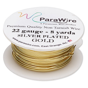 Wire-Wrapping Wire Copper Gold Colored