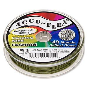 Beading Wire Stainless Steel Greens