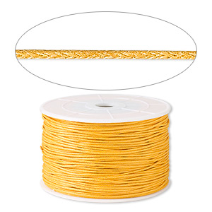 Cord Waxed Gold Colored