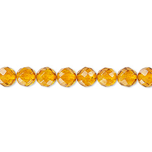 Beads Amber Oranges / Peaches