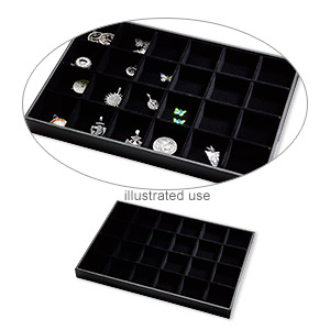 Trays Leatherette Blacks