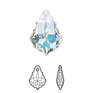 product cheart pendant swarovski heart crystal