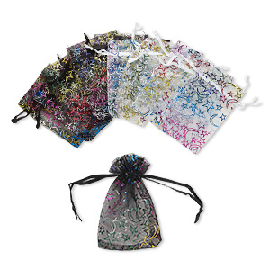 Pouches Organza Mixed Colors