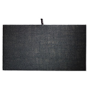 Display pad insert, hemp, black, 14 x 7-3/4 inches. Sold individually.