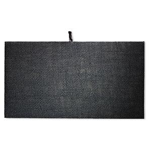 Display pad insert, hemp, black, 14 x 7-3/4 inches. Sold individually.