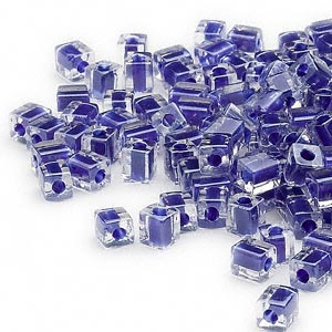 Seed Beads Glass Blues