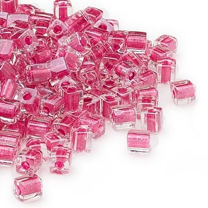 Seed Beads Glass Pinks