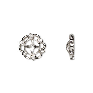 Earring Findings Sterling Silver Silver Colored