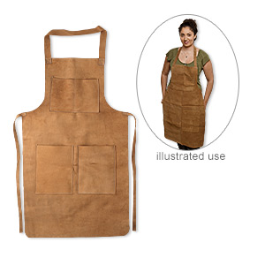 Aprons Leather Suede Browns / Tans