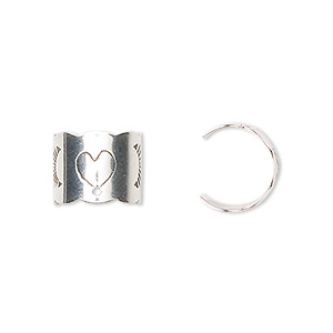 Cuff Earrings Sterling Silver Silver Colored