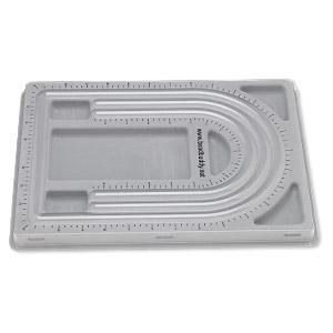 New Plastic Flocked Beading Board Design Tray