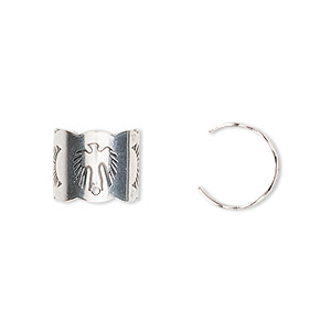 Ear Cuffs Sterling Silver Silver Colored