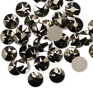 Flat-Back Swarovski Gold