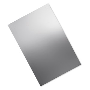 Metal Sheet Sterling Silver Silver Colored
