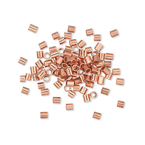 Squeeze Crimps Copper Copper Colored