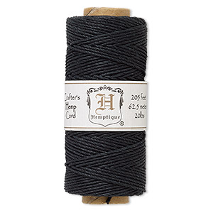Black Hemptique Cord