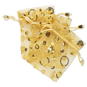 Pouches Gold Colored H20-3005PK