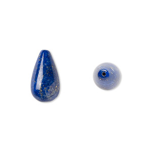 Beads Grade B Deep Blue Lapis