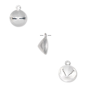 Drop and Link Settings Sterling Silver Silver Colored