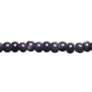 Beads Goldstone Blues