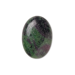 Cabochons Grade B Ruby In Zoisite