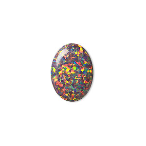 Cabochons Mexican Opal Multi-colored