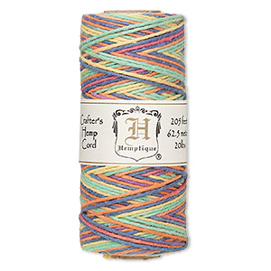 Unpolished  Multicolored 100-yard Spool