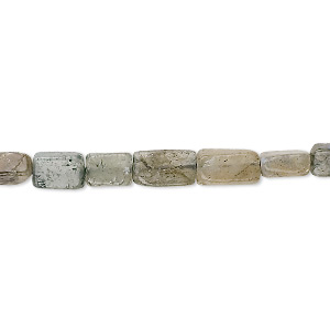 Bead, Labradorite (natural), 7x5mm Rectangle, C Grade, Mohs Hardness 6 6-1/2. Sold Per 16-inch Strand