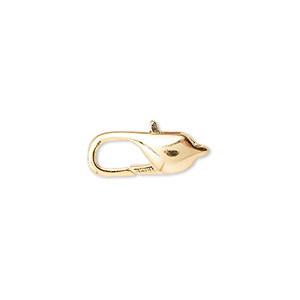 Lobster Claw Gold Plated/Finished Gold Colored