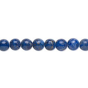 Beads Grade C Denim Lapis
