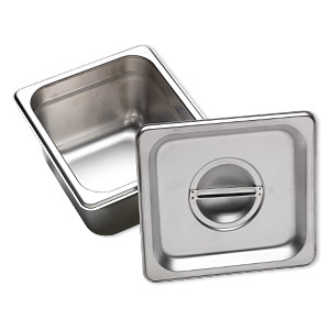 Firing Pans Silver Colored H20-3462TL