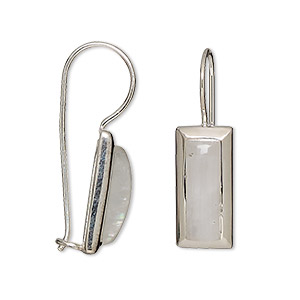 Fishhook Earrings Silver Colored Create Compliments