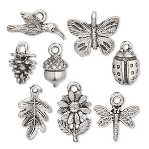 Charms Pewter Greys