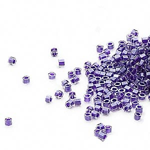 Seed Beads Glass Purples / Lavenders