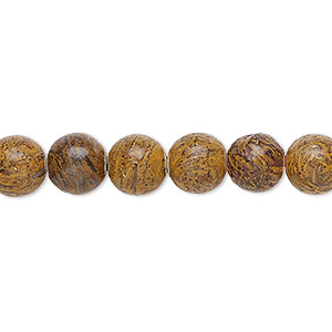 Beads Grade B Chrysanthemum Stone