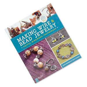 "Book, ""Making Wire & Bead Jewelry: Artful Wirework Techniques"" Janice Berkebile Tracy Stanley. Sold Individually"