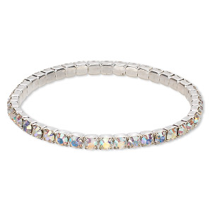 Stretch Bracelets Clear Swarovski