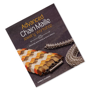 book advanced chain maille jewelry workshop weaving