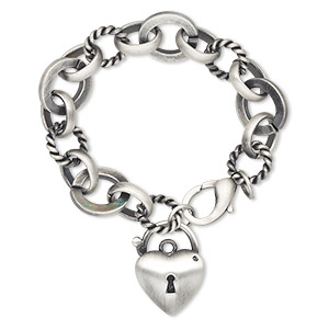 Other Bracelet Styles Silver Plated/Finished Silver Colored