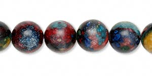 Beads Rainbow Stone Multi-colored