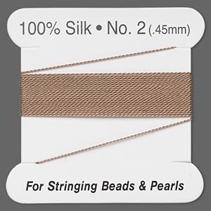 Thread Silk Browns / Tans