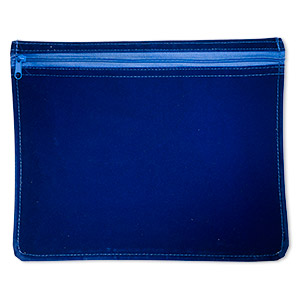 Pouches Satin Blues