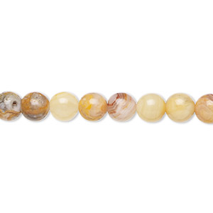 Beads Grade B Crazy Lace Agate