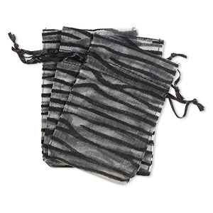 Pouches Organza Blacks