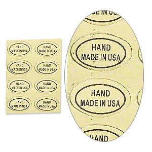 Price Tags and Labels Paper Gold Colored