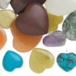 Drops Mixed Gemstones Mixed Colors